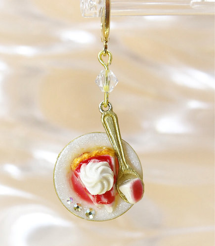New York Cheesecake Earring (Made to Order)