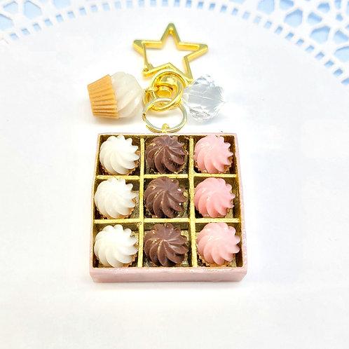 Cupcake Box Set Charm