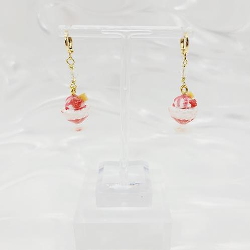 Sundae Earrings Mini Pair -3 Flavors (Made to Order)