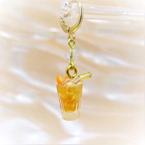 Orange Soda Earring
