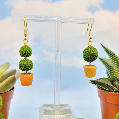 Boxwood Earring Set (Made to Order)