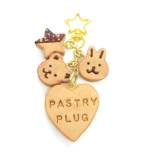 PASTRY PLUG Cookie Bag Charm (Made to Order)