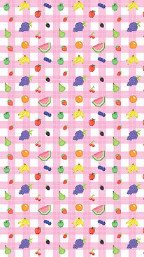 Pixel-Fruits-Picnic-Pattern-Cellphone-Wa