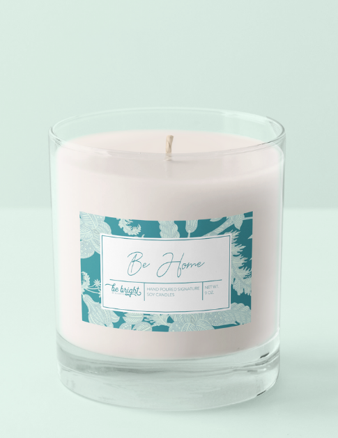 be bright signature soy candle