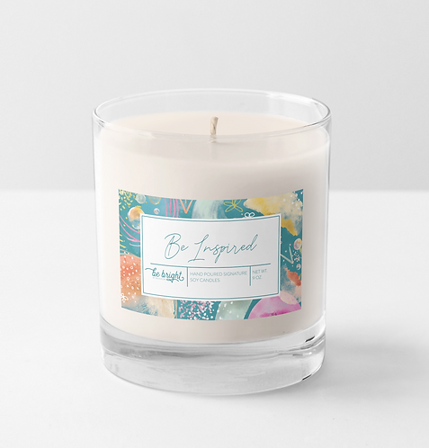 Be Inspired | 9 oz Signature Candle