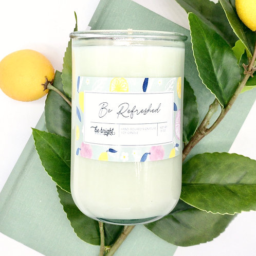 Be Refreshed | 13 oz Signature Candle
