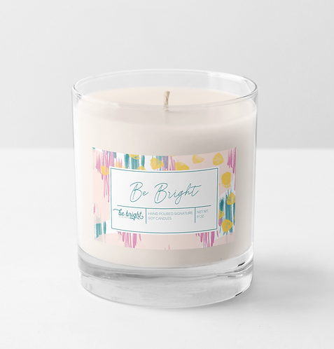 Be Bright | 9 oz Signature Candle