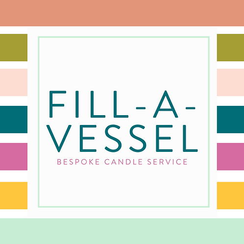 Fill-a-Vessel: Bespoke Candles Poured into Your Vessels