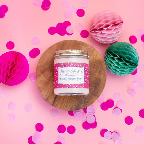 Be Celebrated | 7oz. Soy Candle