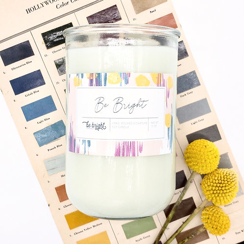 Be Bright | 13 oz Signature Candle