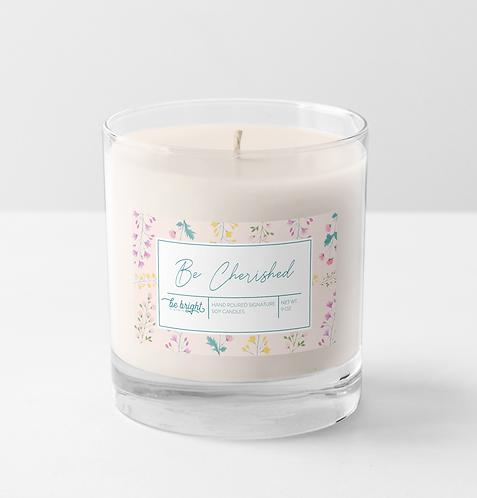 Be Cherished | 9 oz Signature Candle