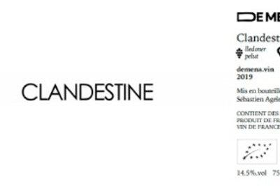 De Mena - Clandestine rouge 2019