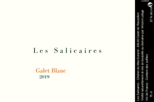 Les Salicaires - Galet blanc 2019