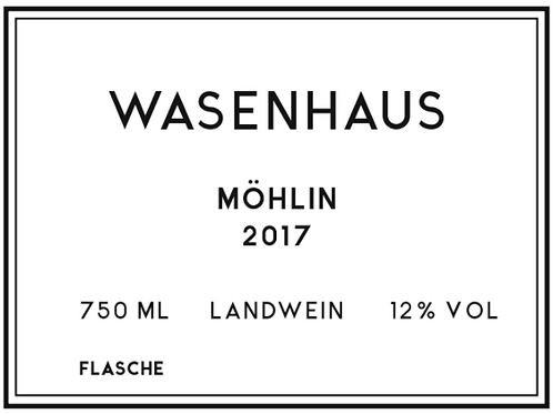 Wasenhaus - Möhlin 2017