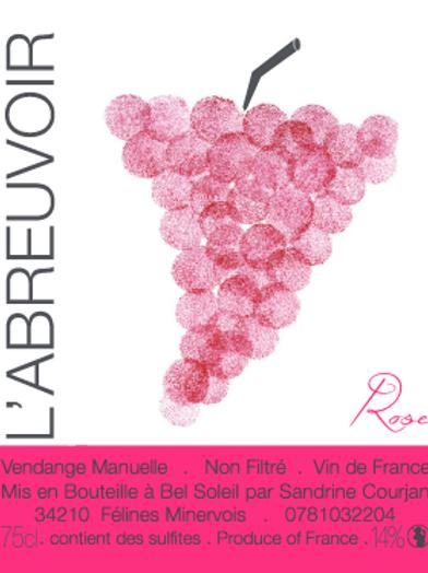 Sandrine Courjan (L'abreuvoir) - L'abreuvoir rosé 2016