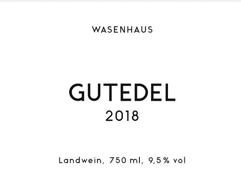 Wasenhaus - Gutedel 2018