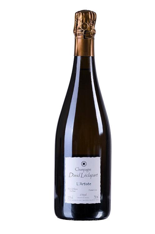 Champagne David Léclapart - l'artiste 2014