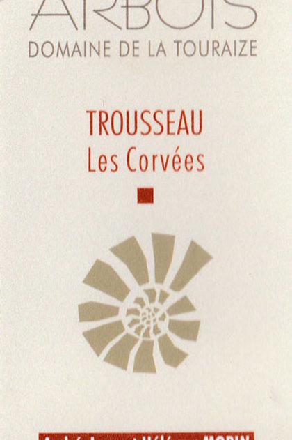 Domaine de la Touraize  - Arbois Trousseau « Les Corvées » 2018