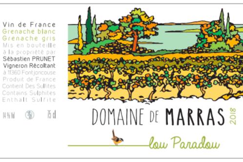 Domaine de Marras - Lou Paradou blanc 2018
