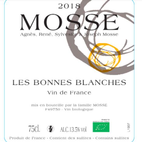 Mosse - Bonnes Blanches 2018