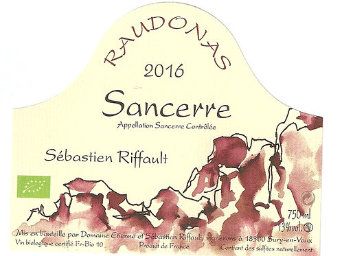 Sébastien Riffault - Raudonas 2016