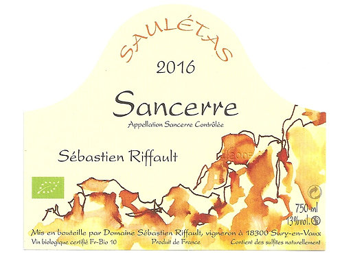 Sébastien Riffault - Saulétas 2016