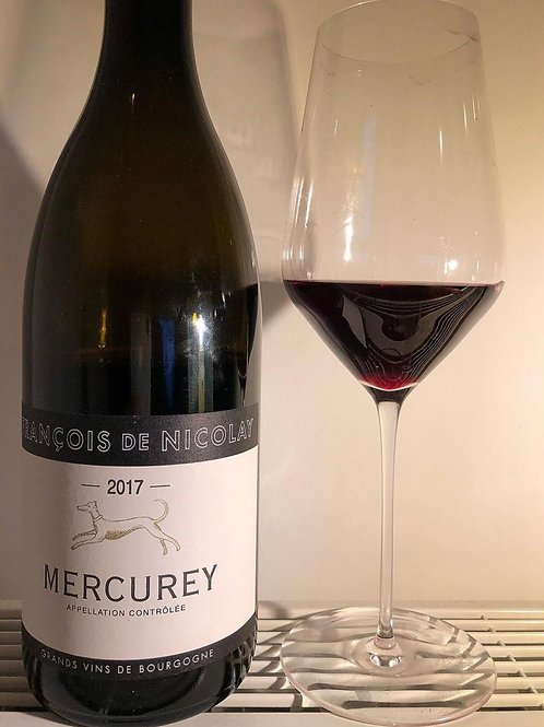 François de Nicolay - Mercurey rouge 2017
