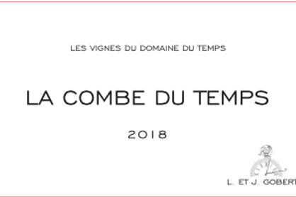 Les Vignes du domaine du Temps - La combe du temps 2018