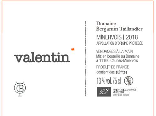 Benjamin Taillandier - Valentin 2018