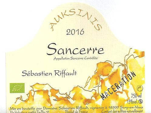Sébastien Riffault - Auksinis macération 2016