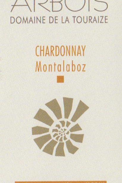 Domaine de la Touraize  - Arbois Chardonnay 2018 « Montalaboz »