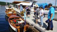 下午,游艇会船友们登陆到Ladysmith 小镇,在新颖且设备齐全的码头,体验了亲切的服务。随后又参观了的Maritime Museum (海事博物馆)