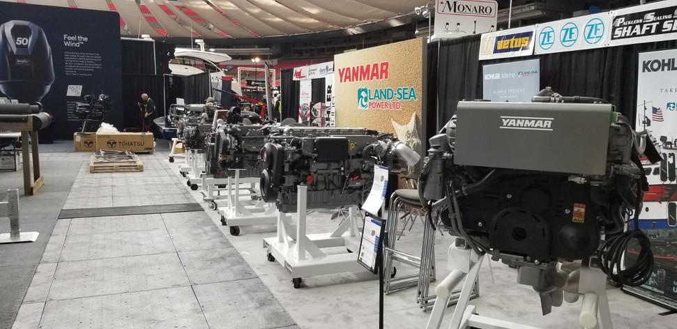 发动机厂商有大量展示II