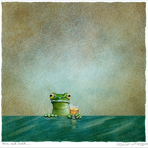 rum and croak...