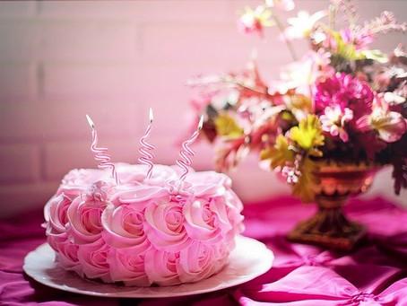 お誕生日にはありがとうを伝えたい