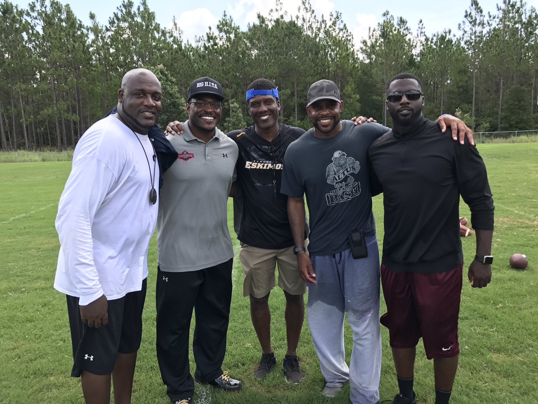 Ernie Sims at the Tallahassee Camp