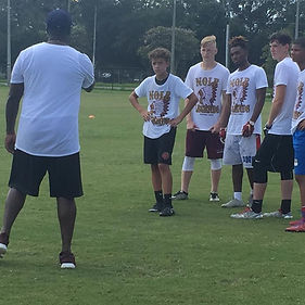 Nole Legends Football Camp Calhoun, Georgia