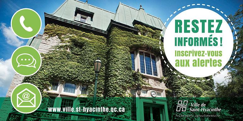 ville de saint-hyacinthe affiche somum