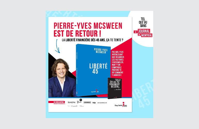 guy saint-jean editeur annuel journal de montréal octobre 2020