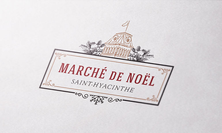 Marche de noel Saint-hyacinthe logo