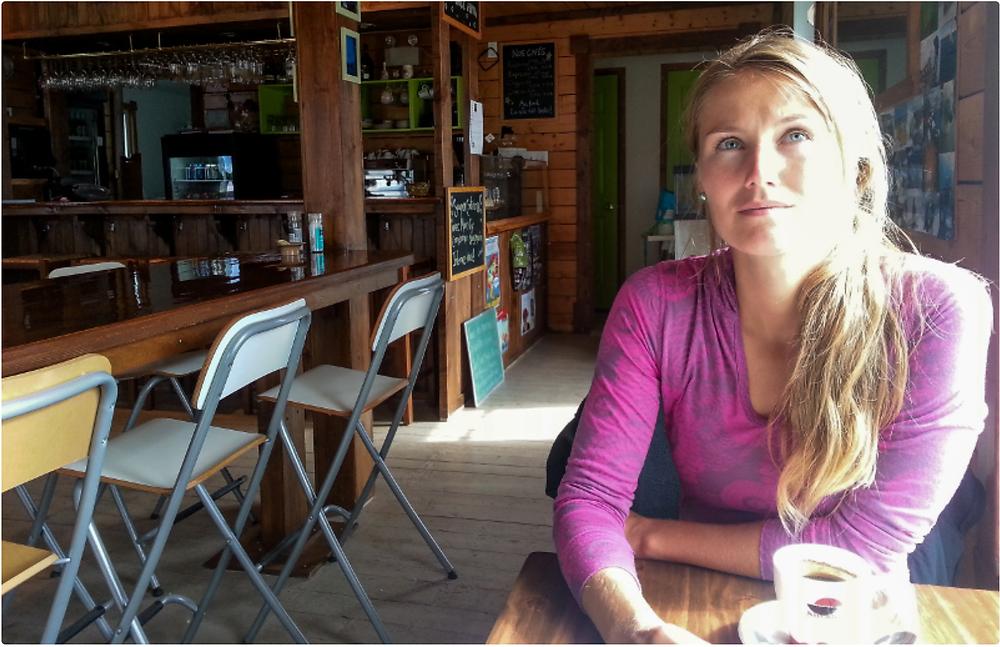 Audrey McMahon et la Yogathérapie