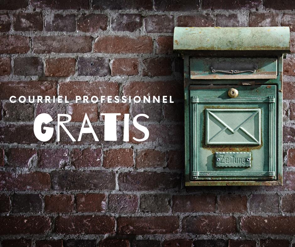 courriel personnalisé gratis