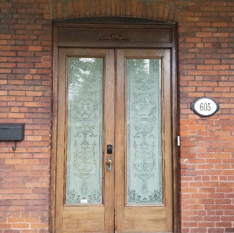 Portes vieilles maison St-Hyacinthe