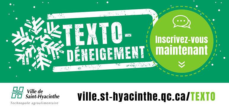 ville de saint-hyacinthe affiche info deneigement