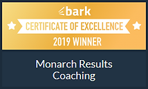 Monarch Results Coaching - Award - Bark