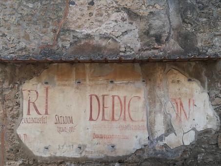 Propaganda politica velenosa? Esisteva già nell'antica Pompei