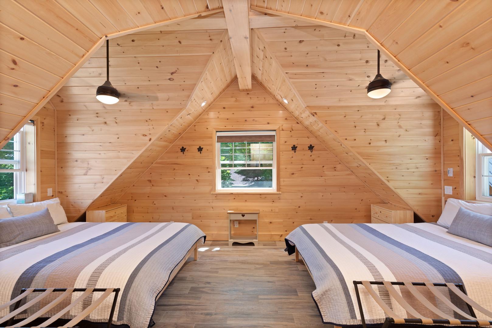Cozy Muskoka cottage bedroom