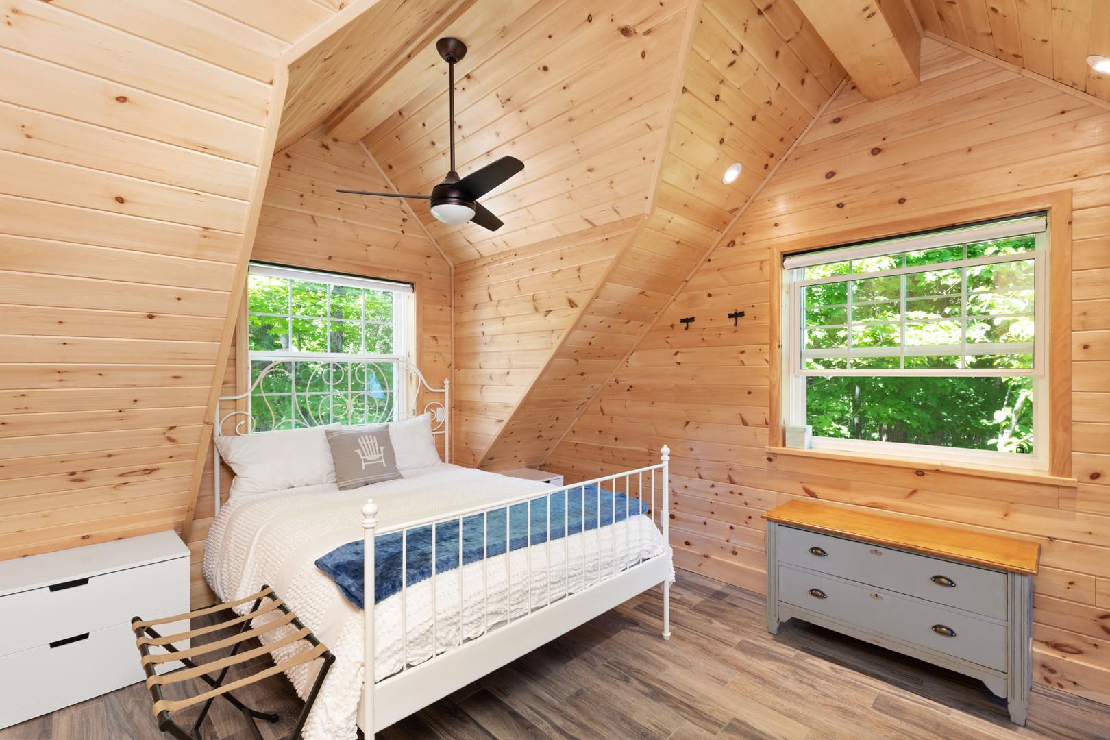 Charming Muskoka cottage bedroom