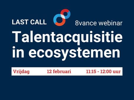 Webinar: Talentacquisitie in Ecosystemen
