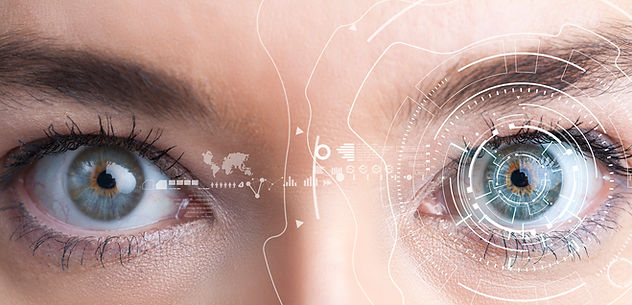 Eye analyzing photo to describe the new collaboration between ASCI and Proofig